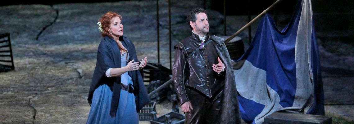 Great Performances at the Met La Donna del Lago Opera Performance Broadcast