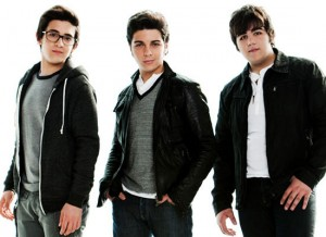 "Piero Barone, 19, Gianluca Ginoble, 17, and Ignazio Boschetto, 18, are ""Il Volo."""