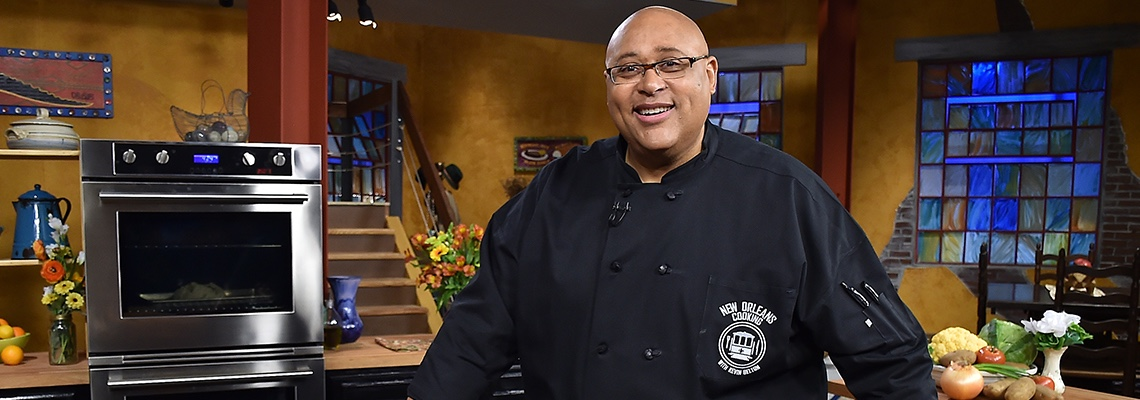 20170207 New Orleans Cooking with Kevin Belton marathon