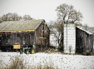 38Winter FarmTracy Clark Cayuga County