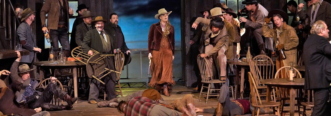 Great Performances at the Met–La Fanciulla Del West Watch Friday, March 22 at 9 p.m. on WCNY-TV.