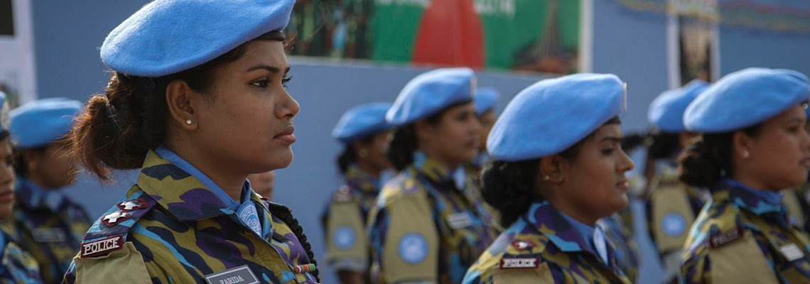 Women, War & Peace–Journey of a Thousand Miles: Peacekeepers Watch Tuesday, March 26 at 10 p.m. on WCNY-TV.