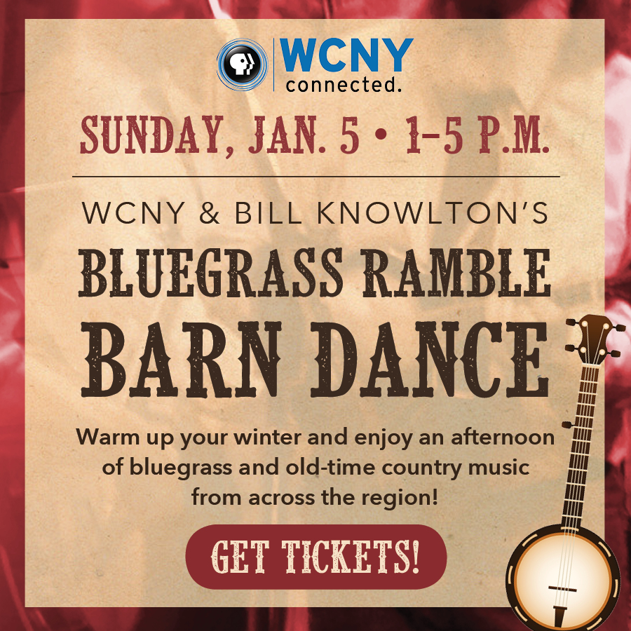 Bluegrass Ramble Barn Dance Jan. 5 from 1–5 p.m.