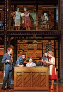 A scene from Beautiful: The Carole King Musical