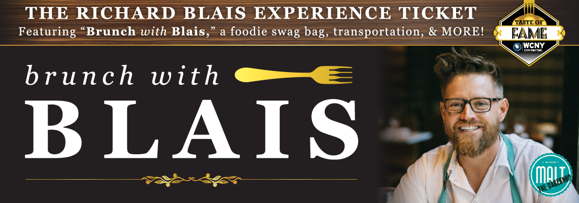 Richard Blais,Taste of Fame Event,WCNY Fundraising Event,Dinner Experience,Elegant Night Out,Signature Event,Central New York events,Fun local events,Bravo's Top Chef,Foodie fan