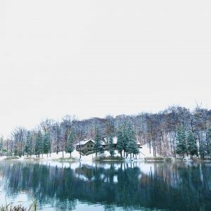 90Early winter snowfall at Green LakeDan BocchinoOnondaga County
