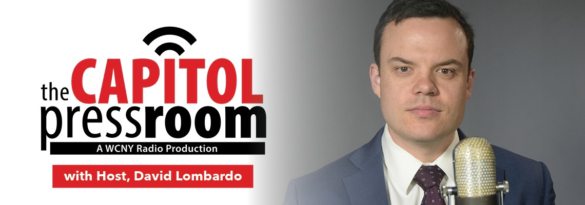 The Capitol Pressroom Host David Lombardo