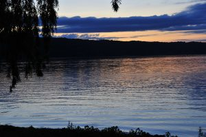 1Cayuga Lake at Dusk  H. Michael Newman Tompkins County