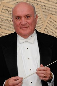 Maestro Charles Schneider, Music Director of the Clinton Symphony