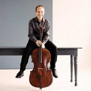 Cellist Christopher Costanza