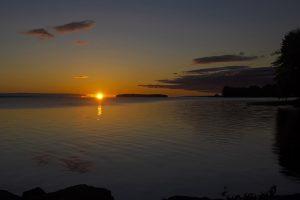 61Autumn Sunrise on Oneida Lake Jan Miner  Onondaga County