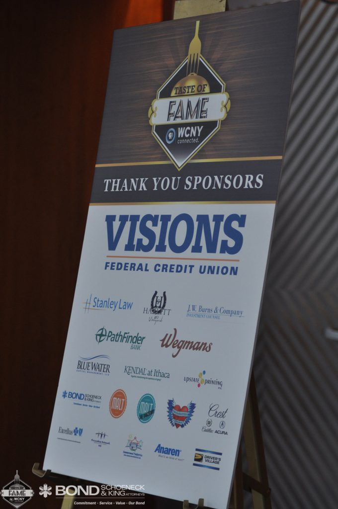 WCNY Taste of Fame 2017 Visions Federal Credit Union