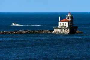 100View of Oswego Harbor West Pierhead Lighthouse from Fort OntarioMonica Merritt Oswego County