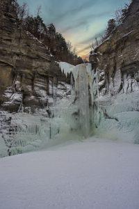 95Winter WaterfallTerri RedheadTompkins County
