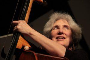 Double bassist Diana Gannett