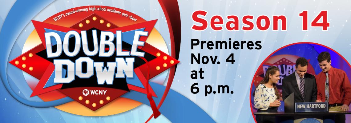 Double Down Season 14 Starts Nov. 4!