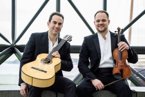 Duo Sonidos Adam Levin, guitar Will Knuth, violin