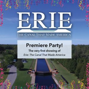 Erie Canal Premiere party event square