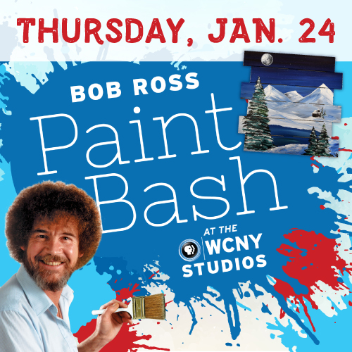 Bob Ross Paint Bash Thursday Jan. 24
