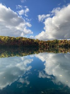 30Blue Sky in a Green LakeRichard KopeckyOnondaga County
