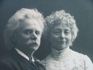 Edvard Grieg and Nina Hagerup