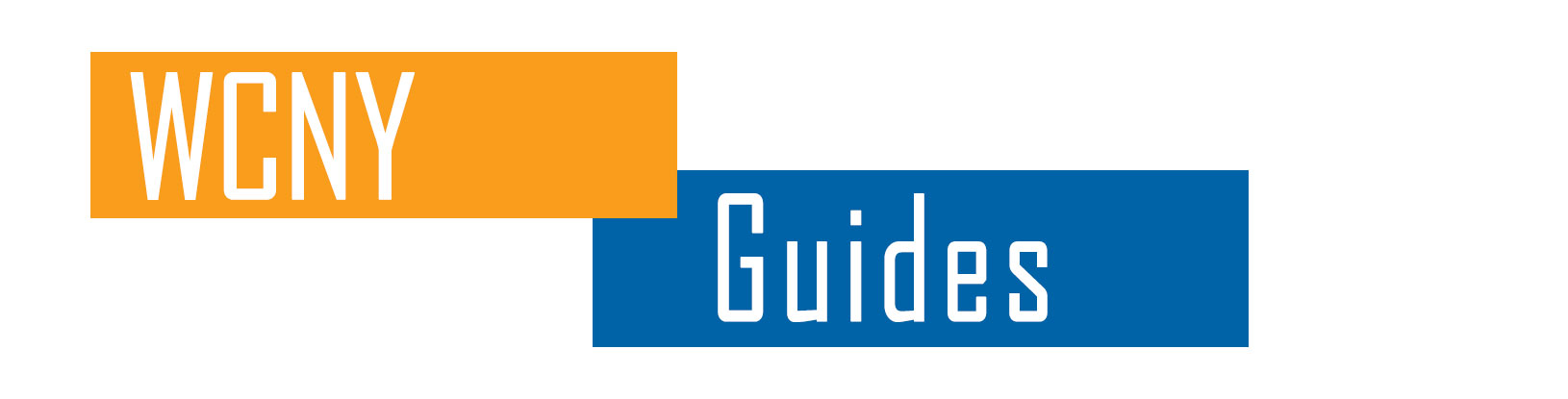 WCNY Guides