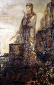 Helen of Troy, painted by Gustave Moreau