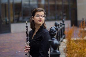 Jillian Honn, oboe