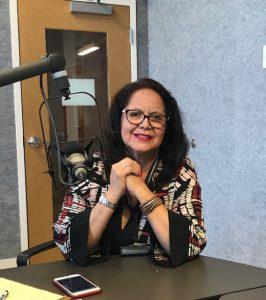 Joanne Shenandoah visited the Classic FM Studios