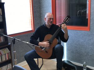 Ken Meyer in the Classic FM Studios