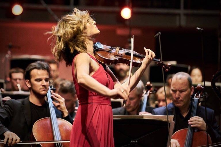 Violinist Lisa Batiashvili