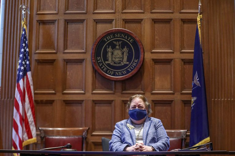 Sen. Liz Krueger, a Manhattan Democrat