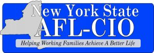 NYS AFL CIO - logo with pantone blue - 10.5.16