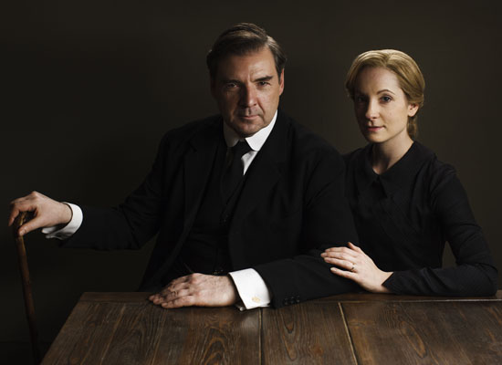 NewsDownton Abbey Bates and Anna