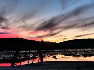 35 A rare colorful fall sunset  Bill Finn  Onondaga County