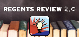 Regents review widget