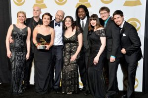 Composer Caroline Shaw and Roomful of Teeth at the Grammys