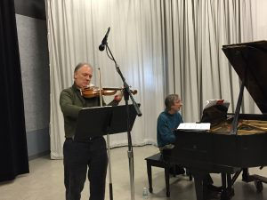 Shem Guibbory, violin, & Sar-Shalom Strong, piano