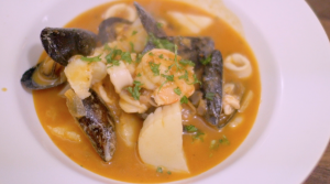 Sicilian Fish Soup Close Up