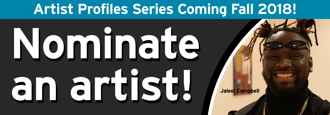 Nominate a local artist!