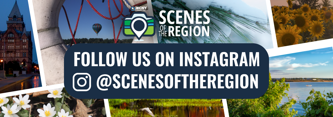 WCNY's Scenes of the Region. Follow us on Instagram @scenesoftheregion