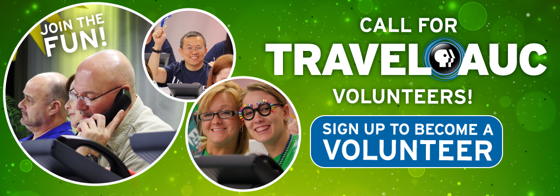 Sign up to become a Travel Auction volunteer with WCNY!