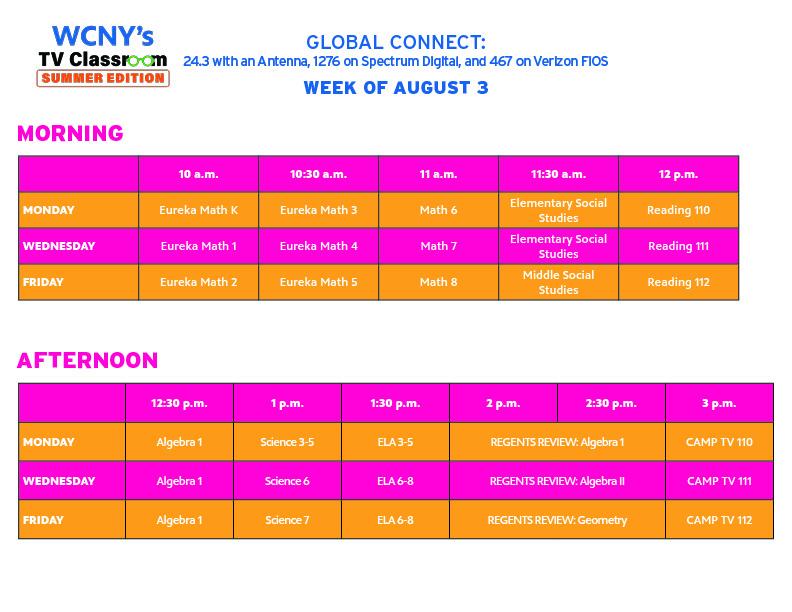 Summer TV Classroom_Aug 3