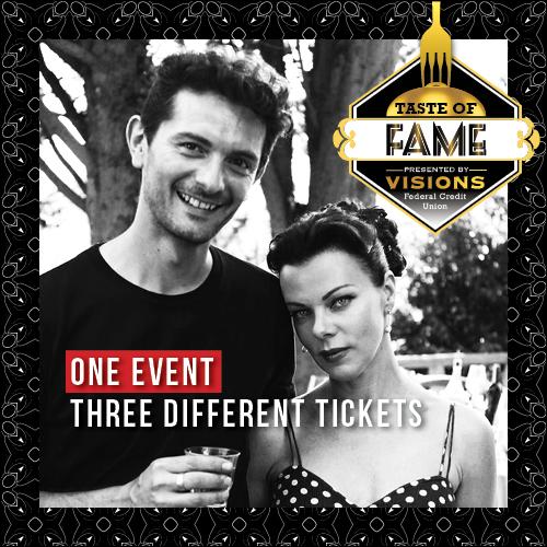 Taste of Fame ticketing square
