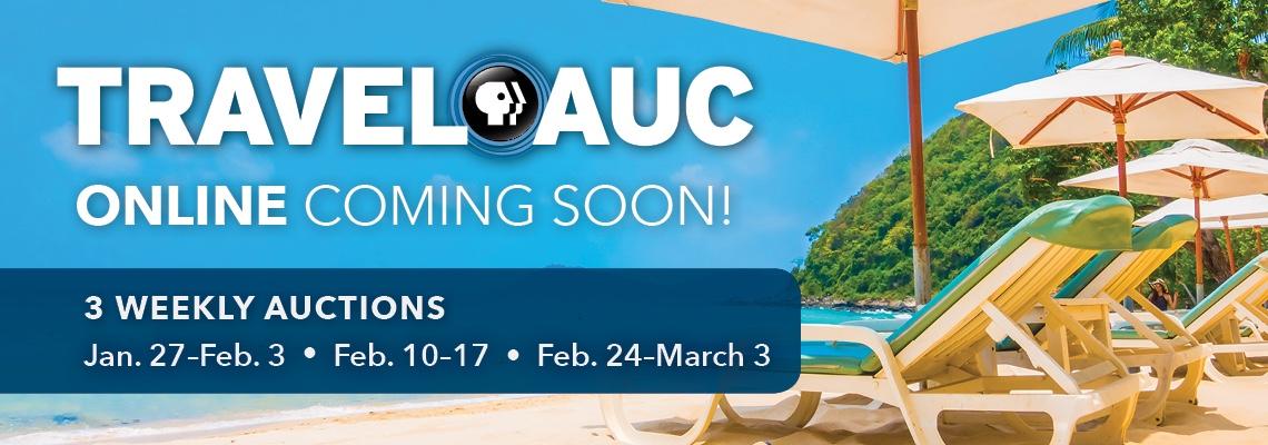 TravelAuc Online is coming soon!