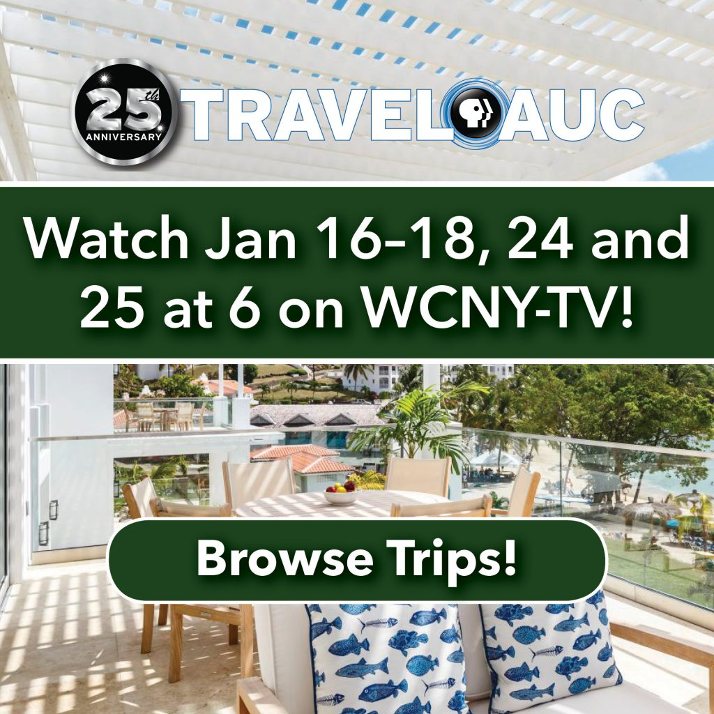 TravelAuc watch Jan. 16-18, 24, and 25