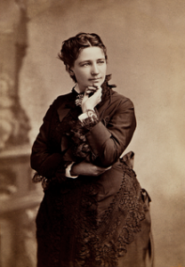 Victoria Woodhull, the first woman to run for President of the US (1872)