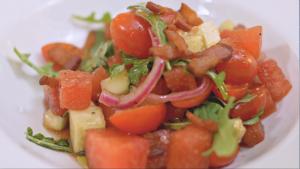 Watermelon Salad CU 2