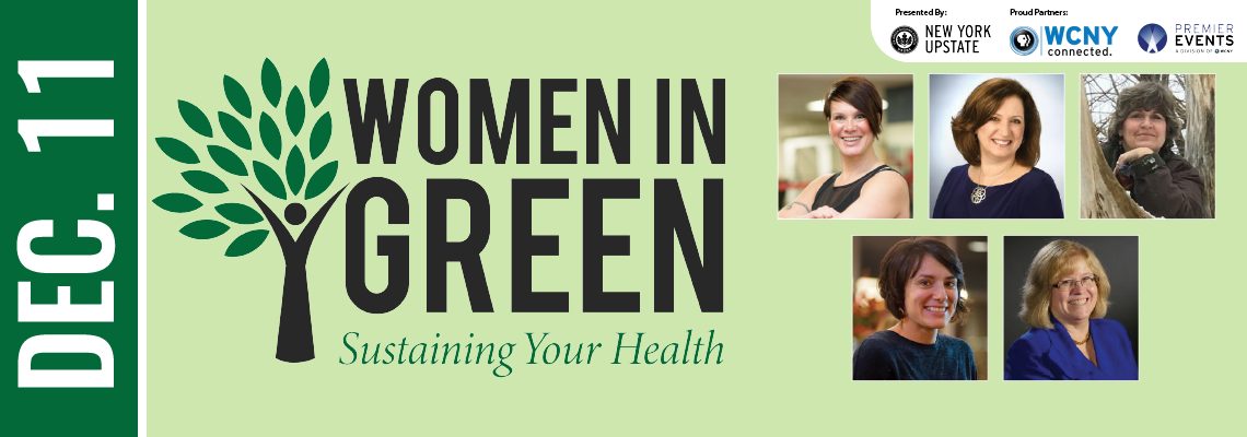 Women In Green Event at WCNY December 11 @ 9:30 –11:30 am