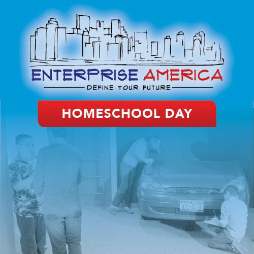homeschool day ticket graphic